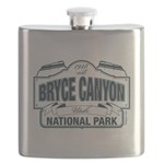 Bryce Canyon Blue Sign Flask