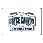 Bryce Canyon Blue Sign Banner