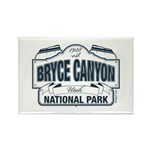 Bryce Canyon Blue Sign Rectangle Magnet (100 pack)