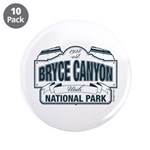 """Bryce Canyon Blue Sign 3.5"""" Button (10 pack)"""