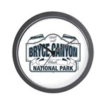 Bryce Canyon Blue Sign Wall Clock