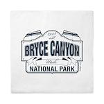 Bryce Canyon Blue Sign Queen Duvet