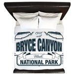 Bryce Canyon Blue Sign King Duvet