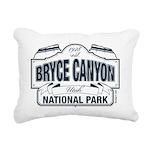 Bryce Canyon Blue Sign Rectangular Canvas Pillow