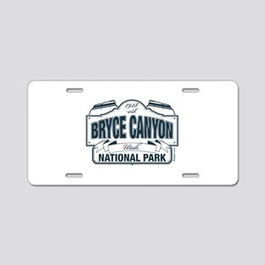 Bryce Canyon Blue Sign Aluminum License Plate