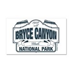 Bryce Canyon Blue Sign Car Magnet 20 x 12