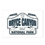 Bryce Canyon Blue Sign Postcards (Package of 8)
