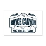 Bryce Canyon Blue Sign Mini Poster Print