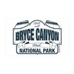 Bryce Canyon Blue Sign 35x21 Wall Decal
