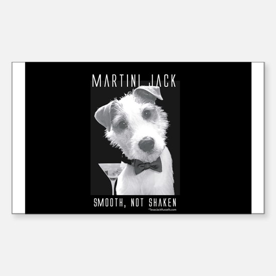 Martini Jack Rectangle Decal