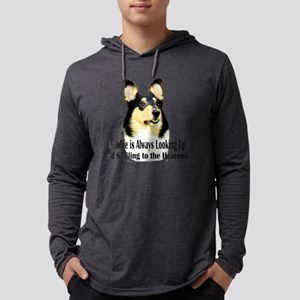 Collie Mens Hooded Shirt
