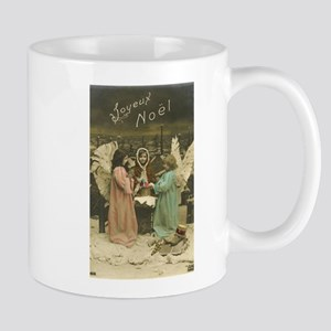 French Christmas Angels Mugs