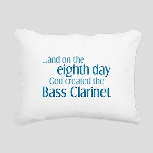 Bass Clarinet Creation Rectangular Canvas Pillow