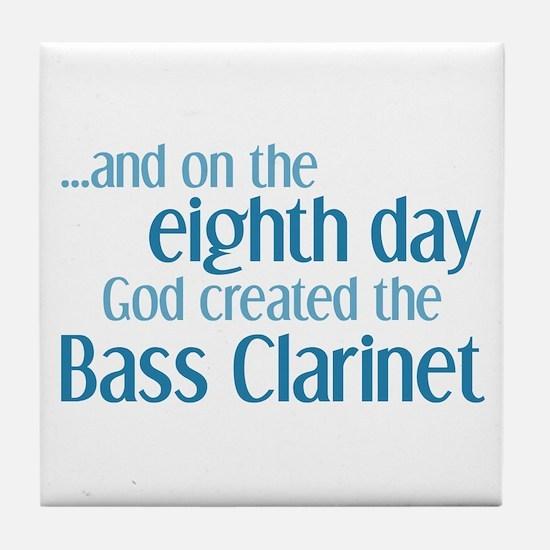 Bass Clarinet Creation Tile Coaster