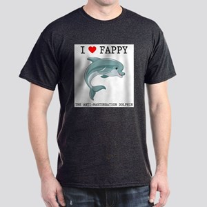 I Heart Fappy, The Anti-Masturbation Dolphin T-Shi