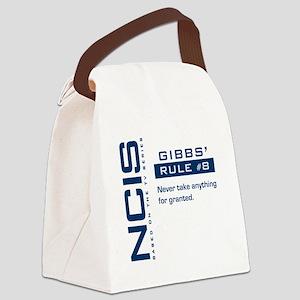 NCIS Gibb's Rule #8 Canvas Lunch Bag