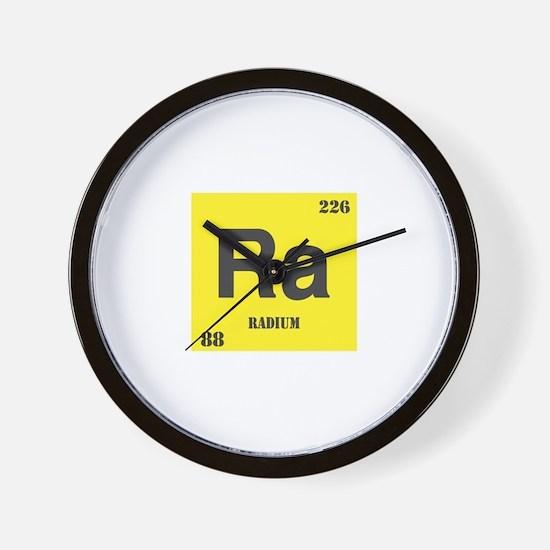 Radium Element Wall Clock