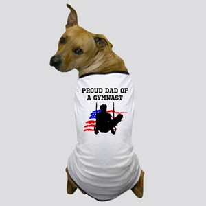 PROUD GYMNAST DAD Dog T-Shirt