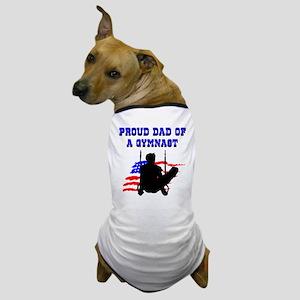 BEST GYMNAST DAD Dog T-Shirt