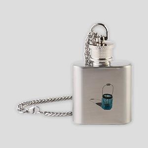 Lighthouse Glass Holder Flask Necklace