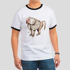 Baboon Ape Monkey Ringer T