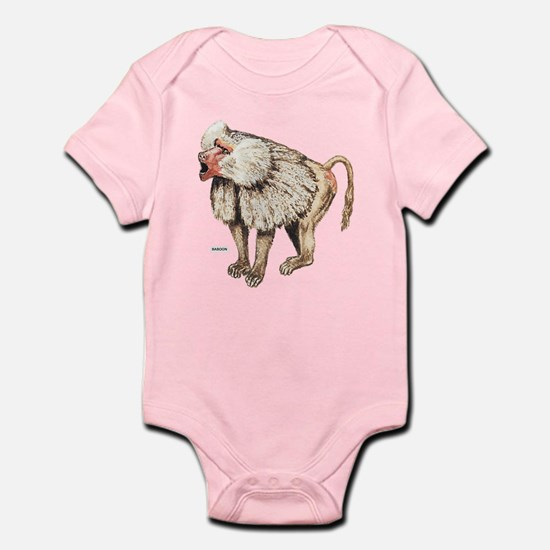 Baboon Ape Monkey Infant Bodysuit
