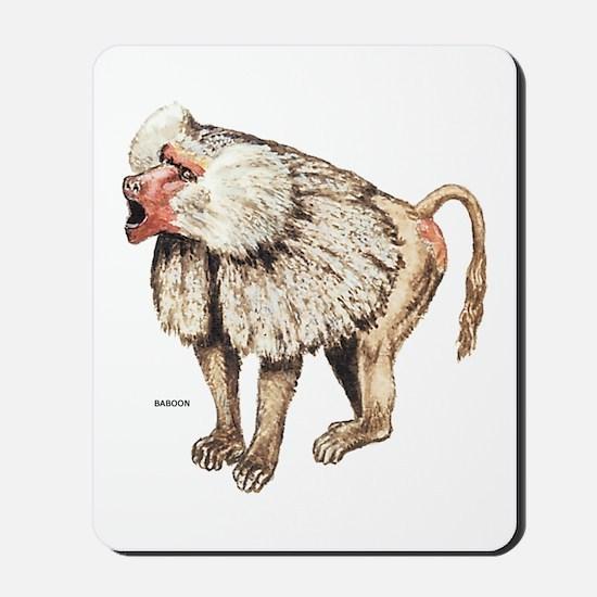 Baboon Ape Monkey Mousepad