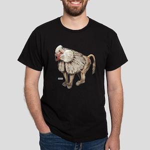 Baboon Ape Monkey Dark T-Shirt