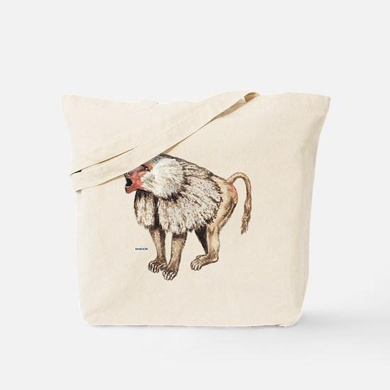 Baboon Ape Monkey Tote Bag
