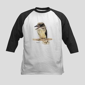 Kookaburra Bird Kids Baseball Jersey