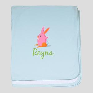 Easter Bunny Reyna baby blanket