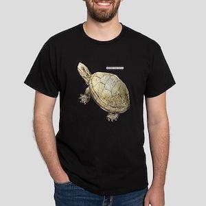 Western Pond Turtle Dark T-Shirt