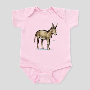 Donkey Animal Infant Bodysuit