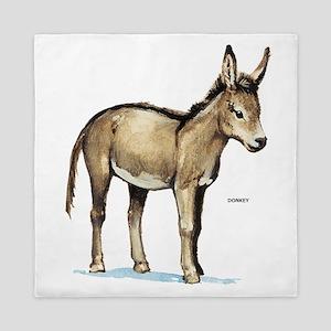 Donkey Animal Queen Duvet
