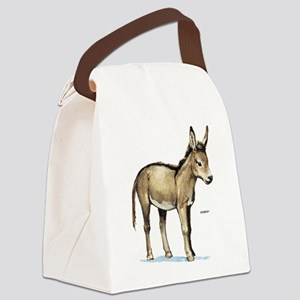 Donkey Animal Canvas Lunch Bag