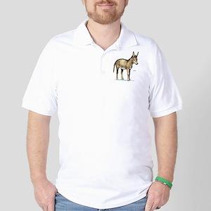 Donkey Animal Golf Shirt