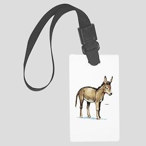 Donkey Animal Large Luggage Tag