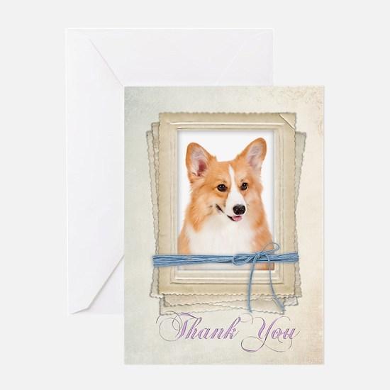 Corgi Thank You Card