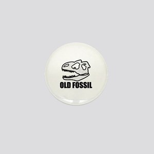 'Old Fossil' Mini Button