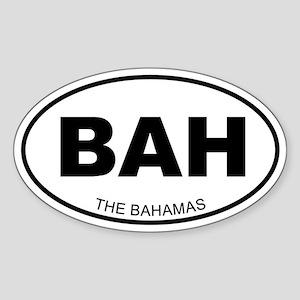 The Bahamas Oval Sticker