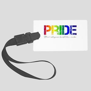 Pride Rainbow Large Luggage Tag