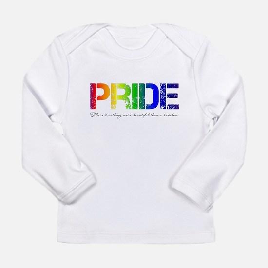 Pride Rainbow Long Sleeve Infant T-Shirt