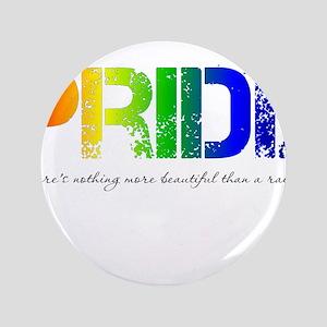 "Pride Rainbow 3.5"" Button"