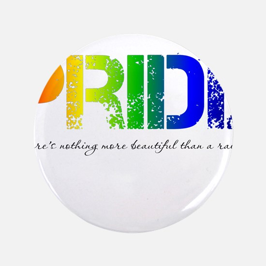 "Pride Rainbow 3.5"" Button"