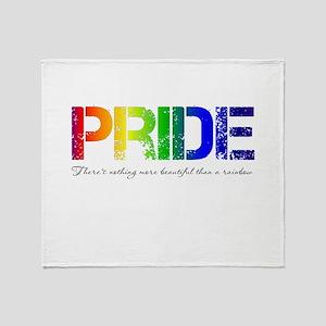 Pride Rainbow Stadium Blanket