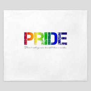 Pride Rainbow King Duvet