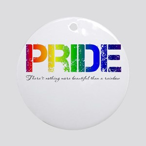 Pride Rainbow Ornament (Round)