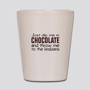 Dip me in Chocolate Shot Glass