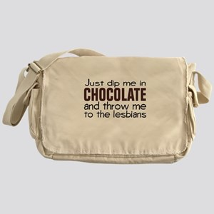 Dip me in Chocolate Messenger Bag
