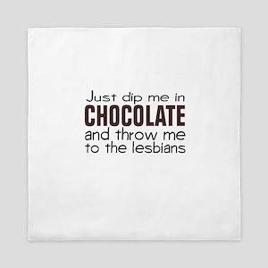 Dip me in Chocolate Queen Duvet